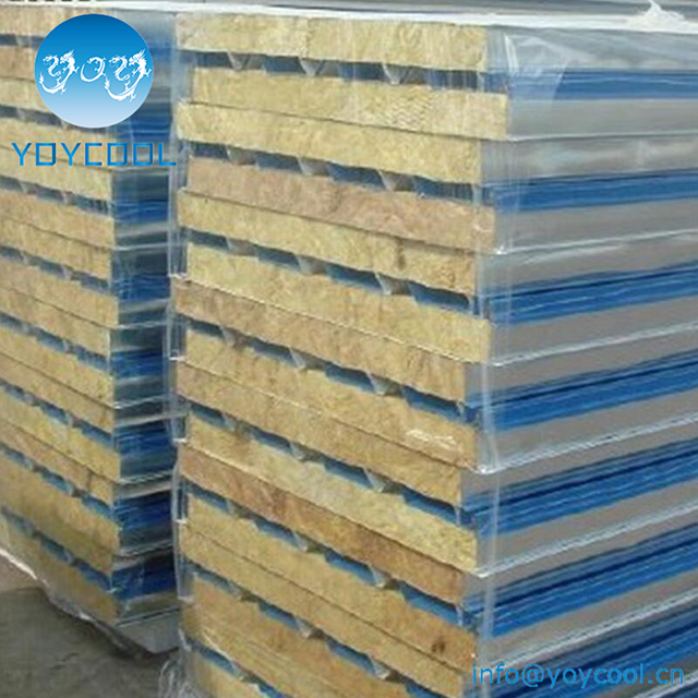 Rockwool Sandwich Panel With PU sealed
