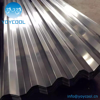 304 316 Stainless Corrugated Steel Sheet
