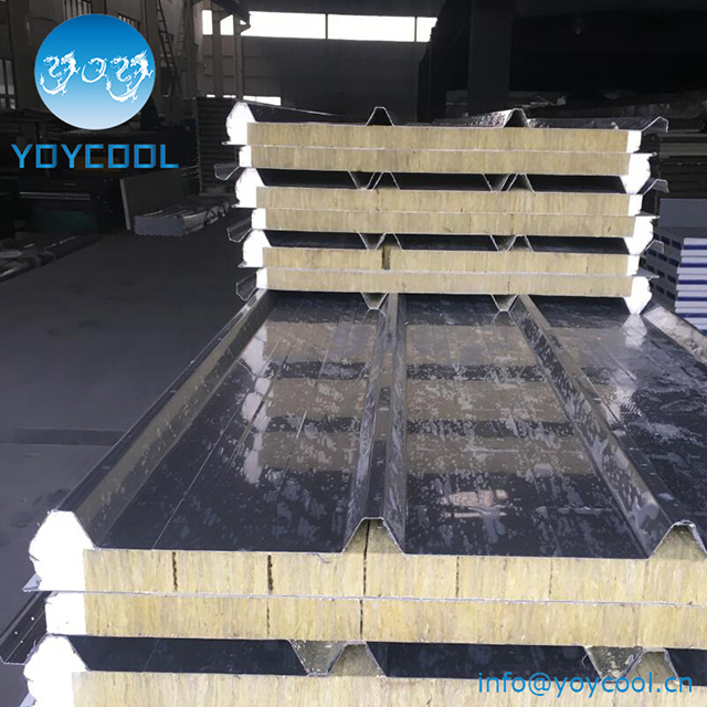 Stainless Steel Sheet Rockwool Sandwich Panels
