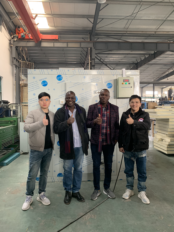 Benin Clients Visit Our YOYCOOL Factory