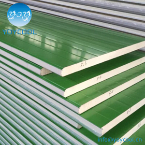 Fireproof 30mm Pu Sandwich Panel